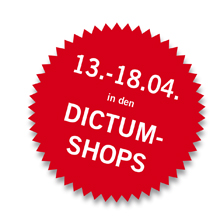 Gartentage vom 13.-18.04. in den DICTUM Shops
